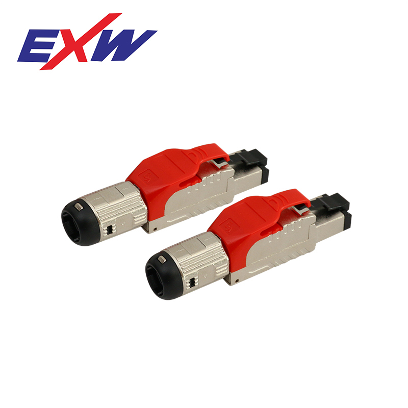 EXW High Quality Cat.8 Toolless RJ45 Connector Plug cat 8