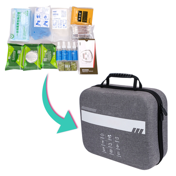 Custom MINI first aid kit with supplies CE Approved Medical eva emergency First Aid Kit for Car