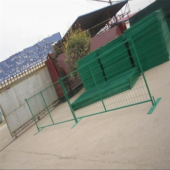 Factory hot sale heras style temporary fence 8ft construction safety electro galvanised fence panel
