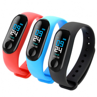 Smart Watch 2018 Sport Fitness Waterproof Wireless Bluetooth Earphone Bracelet 2 In 1 Body Temperature Touch Screen Watch Smart