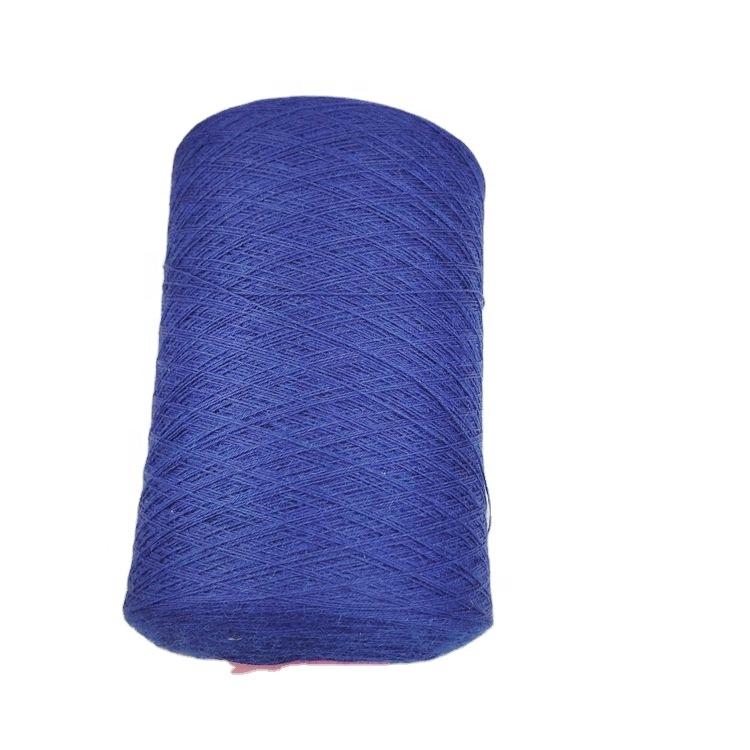 High quality weaving 80% angora wool and 20% nylon blended yarn