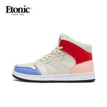 ETONIC Air Force One Баскетбольная обувь для женщин Дышащие Высокие баскетбольные кроссовки женская спортивная обувь для улицы армейские ботинки(Китай)