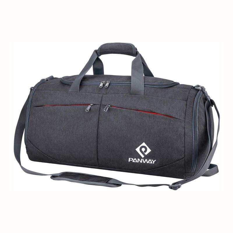 Custom Logo Swimming Fitness Waterproof Eco-friendly Recycled RPET Fabric Training Sport Gym Duffel Bag
