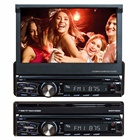 "Din Dvd Player With FY8006 Single Din Car DVD Player With Retractable 7"" TFT Touch Screen"