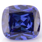 Factory direct wholesale cubic zirconia Lab grown cubic zirconia Long-cushion shape tanzanite for jewelry making