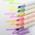 Custom Logo Twin Tips Dual Tips Double Sided fluorescent Color Highlight Pen