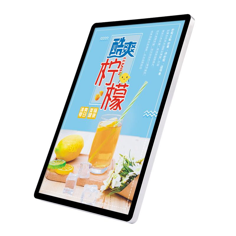 Светодиодный apple Тонкий Магнитный лайтбокс, индивидуальный односторонний Круглый Светящийся рекламный щит, настенный магнитный тонкий лайтбокс