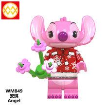 LEGOED мини-фигурки для девочек, Замороженные Игрушки принцессы, Белоснежка, Эльза, Анна, Ариэль, Золушка, друзья, куклы, строительные блоки(Китай)