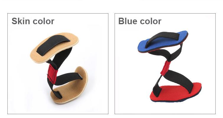 Эластичный корректор бурсита, разделитель пальцев ног, растягивающаяся шина