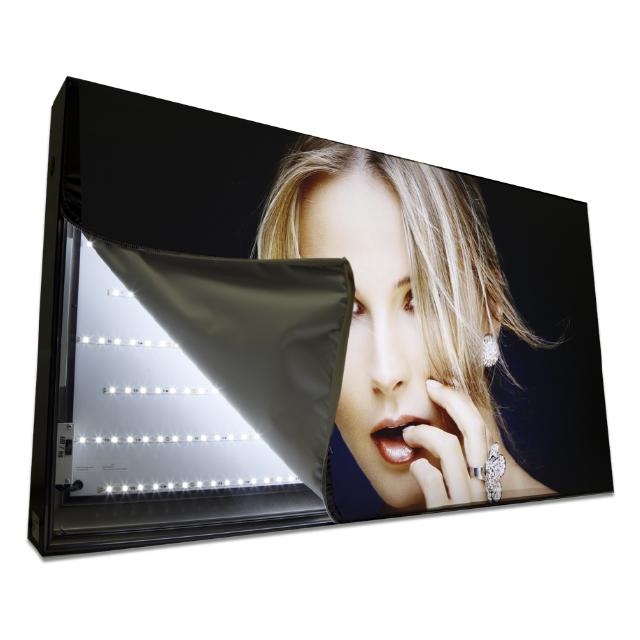 Наружная реклама, висячий знак, индивидуальный тонкий световой короб