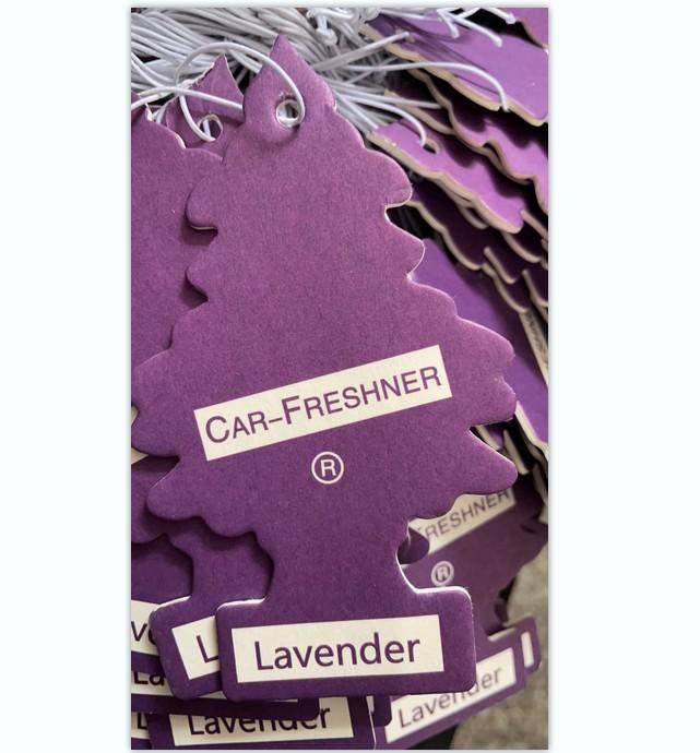 Airfresh paper car sticker