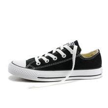 Оригинальные оригинальные Конверс ALL STAR парные Скейтбординг обувь Классические черные белые повседневные кроссовки светильник удобные ...(Китай)