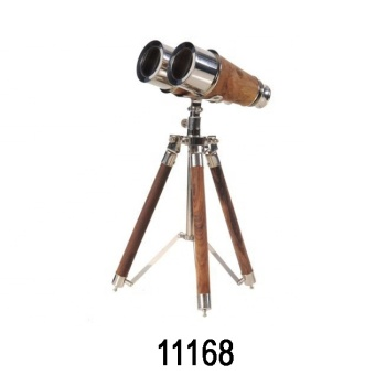 New Design Nautica Brass Binocular With Brass Tripod For House Decoration and Traveling Accessories