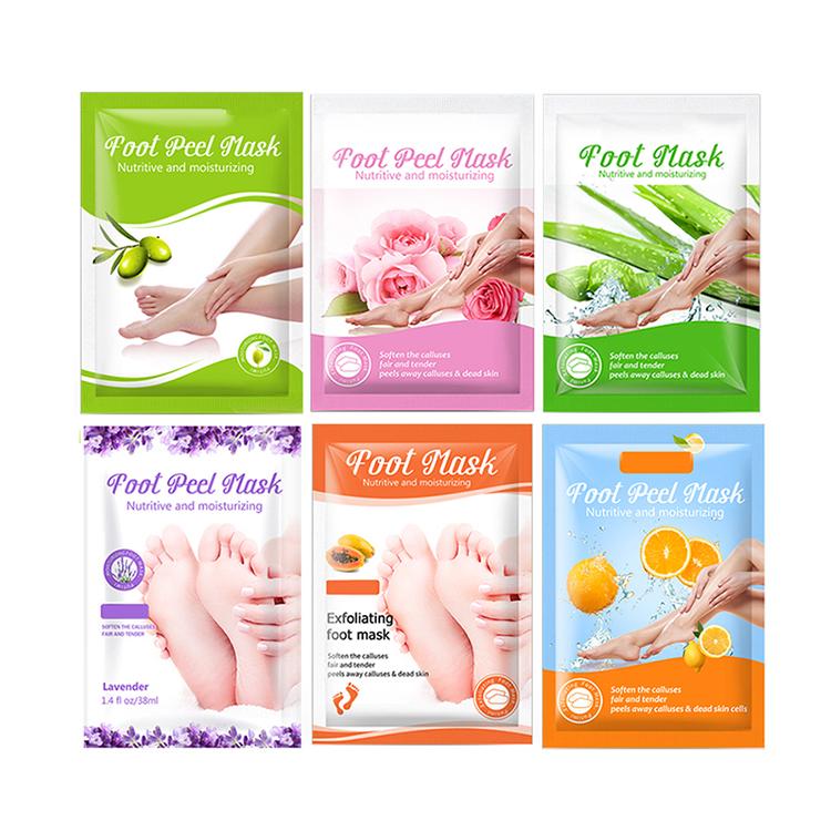 private label peel Moisturizing foot skin care nourish Whitening foot cream Exfoliating Skin rejuvenation foot mask