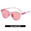 6. Transparent pink/ light pink