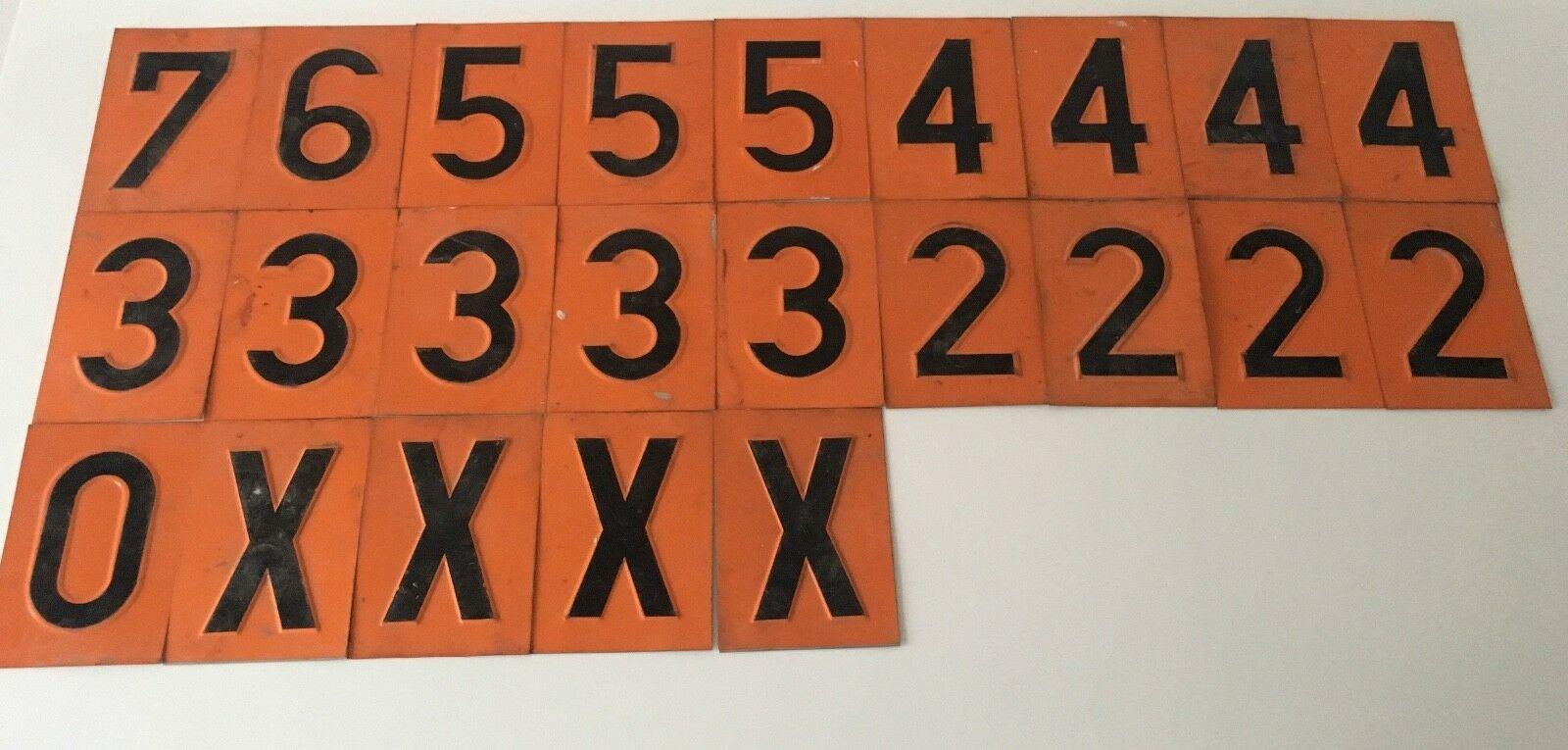 Custom Design House Numbers Metal Aluminum Door House Name Plate Hotel Room Door Number Plates Door Signs Wholesale