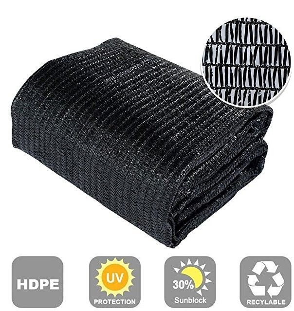 HDPE Knitted Green 70% Agricultural greenhouse carport UV sun shade net for agriculture/greenhouse / outdoor