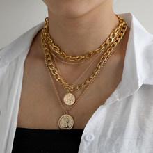 DAXI цепь женская на шею жемчужное ожерелье на шею цепь женская подвеска на шею цепочка на шею женская бижутерия для женщин цепи на шею женски...(Китай)