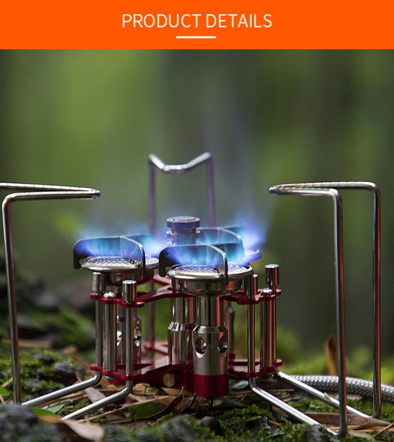 Bulin BL100-B6-A portable stove grill burner Campfire tent
