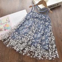 Menoea свадебное платье для девочек, 2020 летние модные вечерние платья для девочек, Звездные наряды с блестками, детская одежда принцессы(Китай)