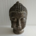 Silver Buddha Silver Silver Buddha Silver Foil Polyresin Buddha With Tealight Holder Figurine For Inner Home Decoration