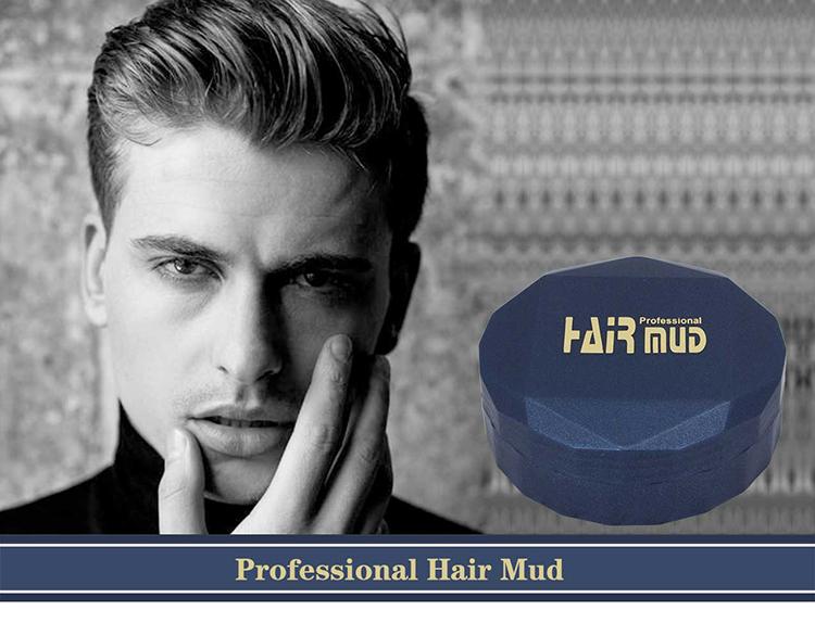 Прямая поставка, Собственная Марка, матовая глина для волос, крем, помада, матовая отделка, бесплатный образец