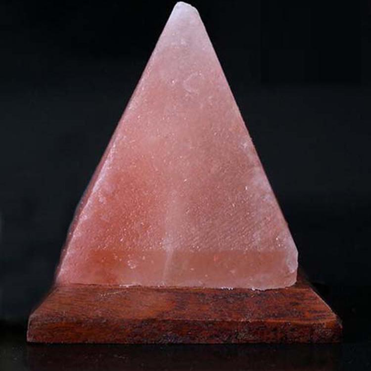 YJN5460C домашняя Пакистанская Пирамида Хрустальная скала Гималайская соляная лампа Usb