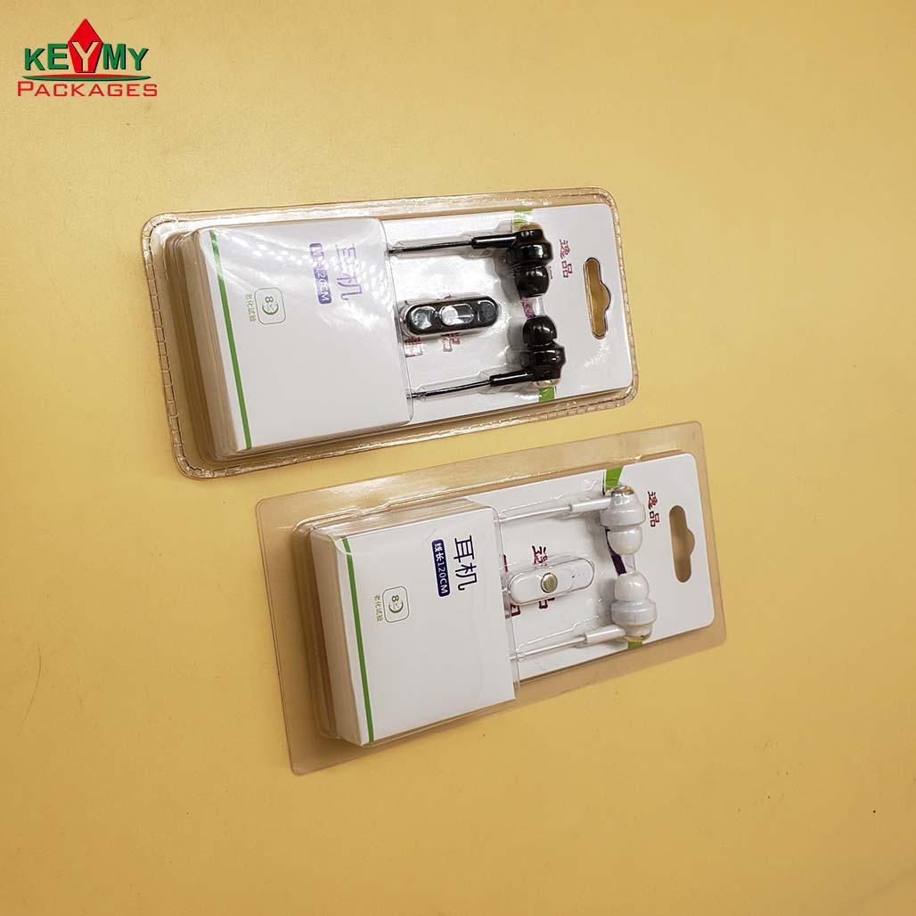 Горячая Распродажа, индивидуальная блистерная упаковка для ушных телефонов с гиперзвуковым уплотнением, полностью собранная упаковка