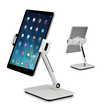 360 Rotating Aluminum Cell Phone Holder For iPad 2 3 4 Mini Air Samsung Tablet Pc