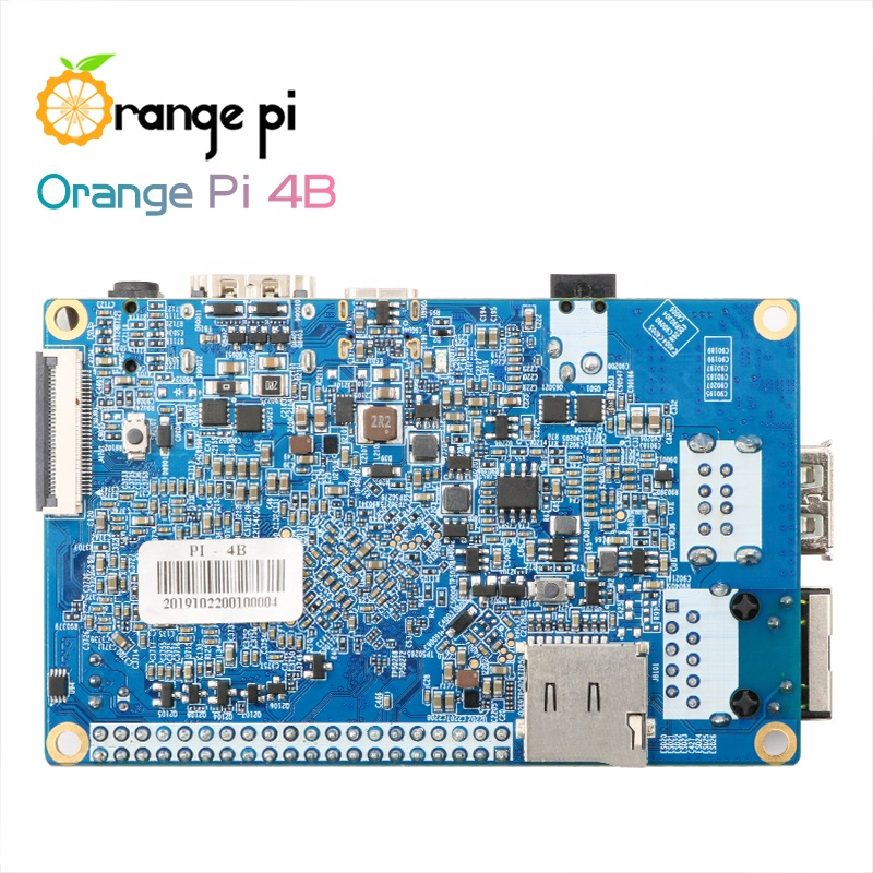 Orange Pi 4B 4GB/16GB EMMC Flash Rockchip RK3399 built-in NPU SPR2801S Orange Pi 4B Development Board