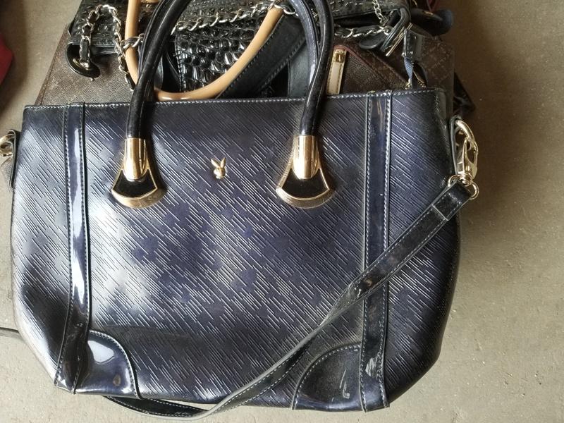 Б/у кожаные сумки, одежда
