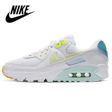 Nike Air Max 90 оригинальные женские кроссовки для бега черные дышащие кроссовки для спортзала уличная спортивная обувь Nike Air 90()