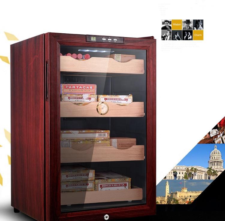 Шкаф для хранения сигар, деревянный ящик для хранения, 200-300 шт. сигар