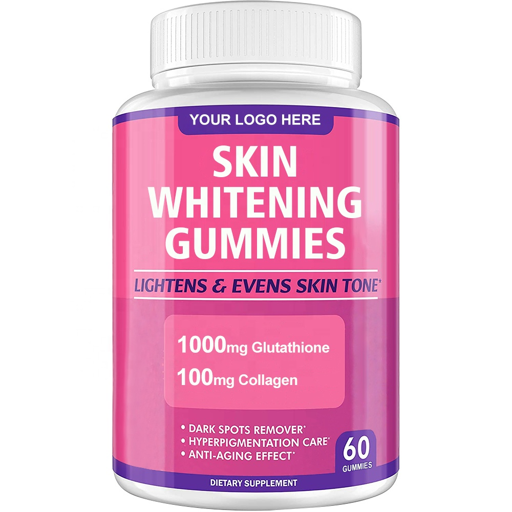 Private Label Skin Care Whitening 1000mg L-Glutathione And Collagen Skin Whitening Capsules