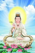3D обои высокого качества с Буддой, модные обои для гостиной, спальни, крыльца, прохода, декоративный фон для стены(Китай)
