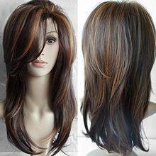 Модный короткий сексуальный парик фронта волнистые черные женские красные синтетические парики с розовой сеткой Горячие волнистые кружев...(Китай)
