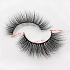 Eyelash Private Label Flourishing Lashes Extra Long Real Mink Hand-made Easy Fan Individual Eyelash Extensions