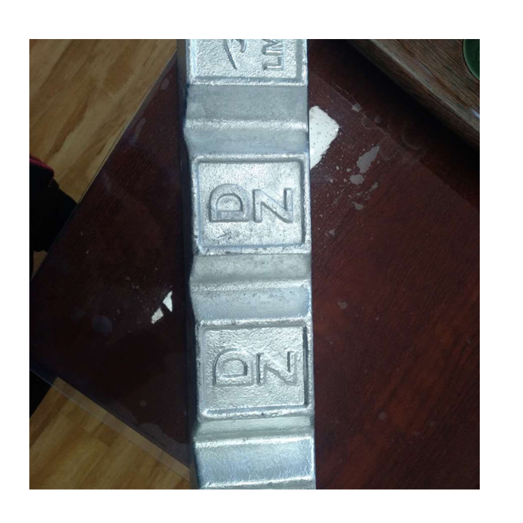 Purity 98.7%-99.995% Zinc Alloy Ingot of Zamak 2~5