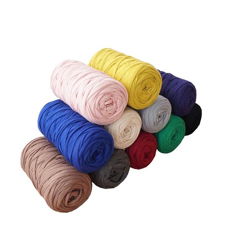 Charmkey fancy crochet baby t shirt polyester yarn for hand knitting yarn free samples