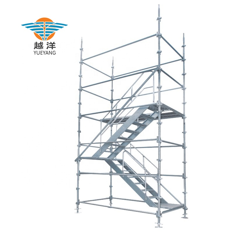 Factory Direct Galvanized Steel Kwikstage Scaffolding System Comply With Australian Standard For Building Work