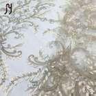 Lace Lace Beaded 3d Applique Lace Fabric Tulle Sequin Lace For Party