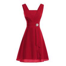 Женское платье размера плюс CHAMSGEND, официальное платье подружки невесты с высокой талией, вечерние бальные платья для выпускного вечера, веч...(Китай)