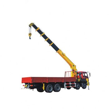 Maximum Lift Load SQ5SK2Q 5 Ton Truck Mounted Crane Manufacturer For Construction