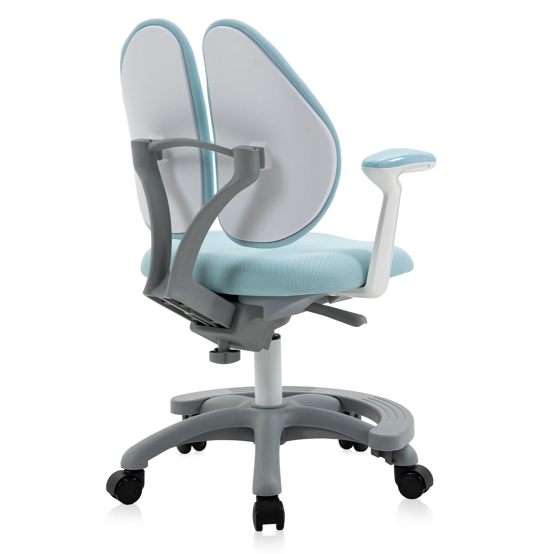 Wholesale Sky Blue/Pink  Student Chair Posture Ergonomic Swivel Study Chair