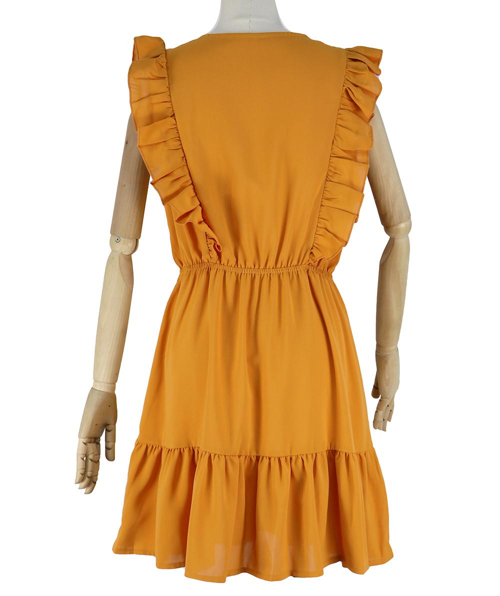2021 New Summer Beach Sexy Off Shoulder High Waist V Neck Casual Short Dress for Women