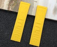 Роскошный бренд мягкий натуральный силиконовый резиновый ремешок 22 мм 24 мм ремешок для часов браслет для navitimer/мститель/Breitling Ремешок Инстр...(Китай)