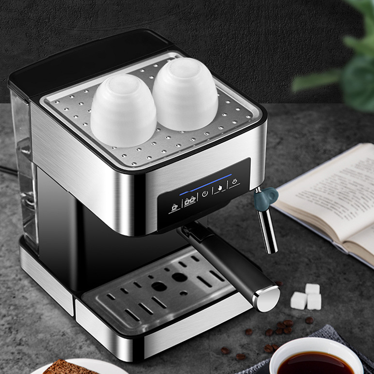 2021 new customizable office smart 1.6L capacity automatic digital espresso machine coffee maker