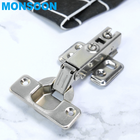 MS02 Hidden Kitchen Cabinet Folding Table Stainless Steel Furniture Soft Close Cabinet Door Hinge Factory in China