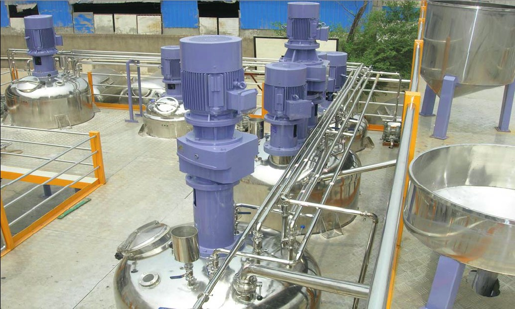 complete production line for coating