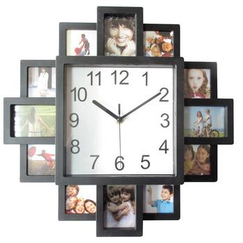 16 Inch Photo Frame Wall Clock New Diy Modern Desigh Art Picture Clock Living Room Home Decor Wall Watch